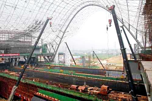 徐州火车站钢结构